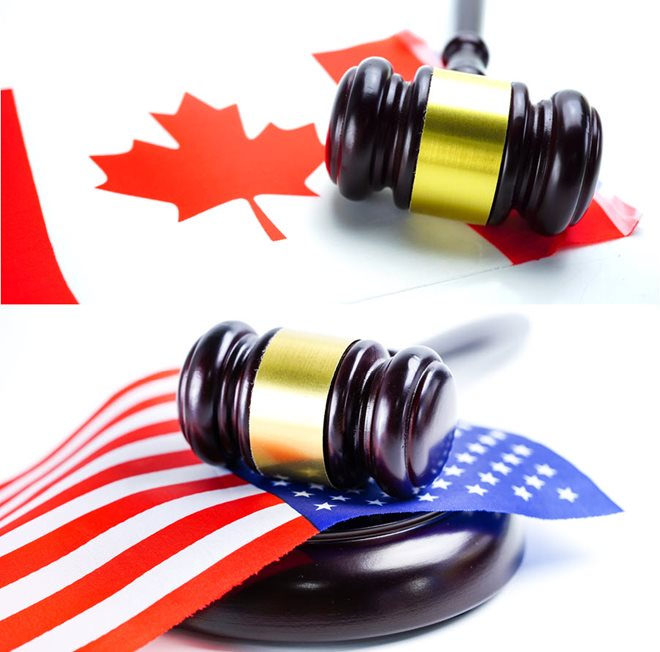Personal Injury Law Canada vs U.S.