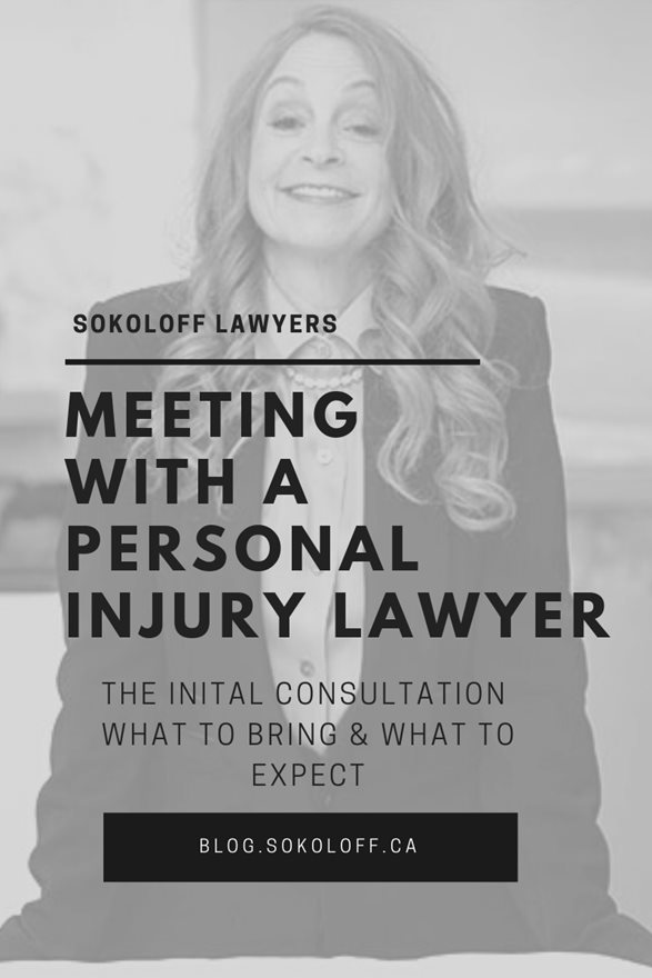 Meeting with a Personal Injury Lawyer in Toronto