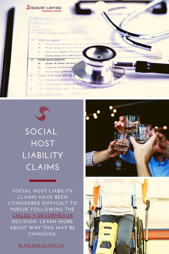 Social Host Liability Claims