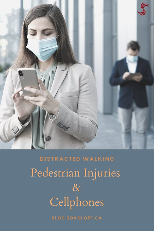 Distracted Walking Pedestrian Injuries and Cellphones