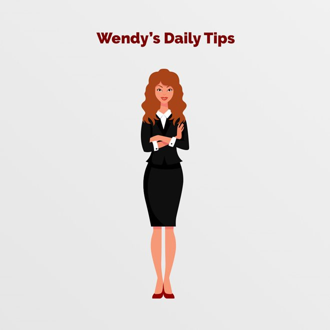 Sokoloff Lawyers - Say Hello to Wendys Daily Tips