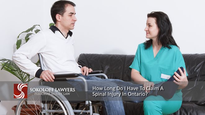 How Long do I Have To Claim a Spinal Injury in Ontario