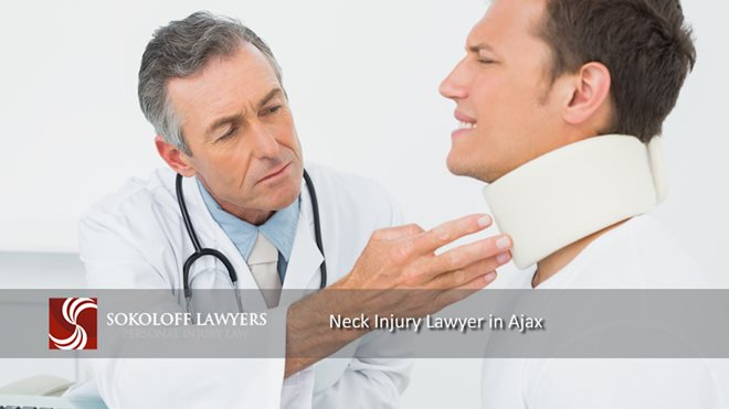 Neck Injury Lawyer in Ajax