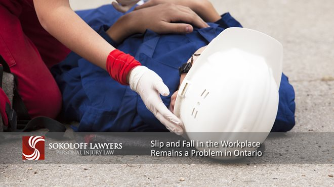 Slip and Fall in the Workplace Remains a Problem in Ontario slipandfallintheworkplace